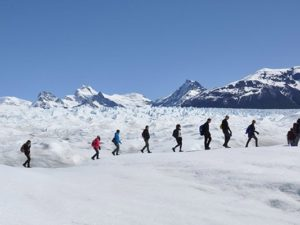 Big Ice in El Calafate