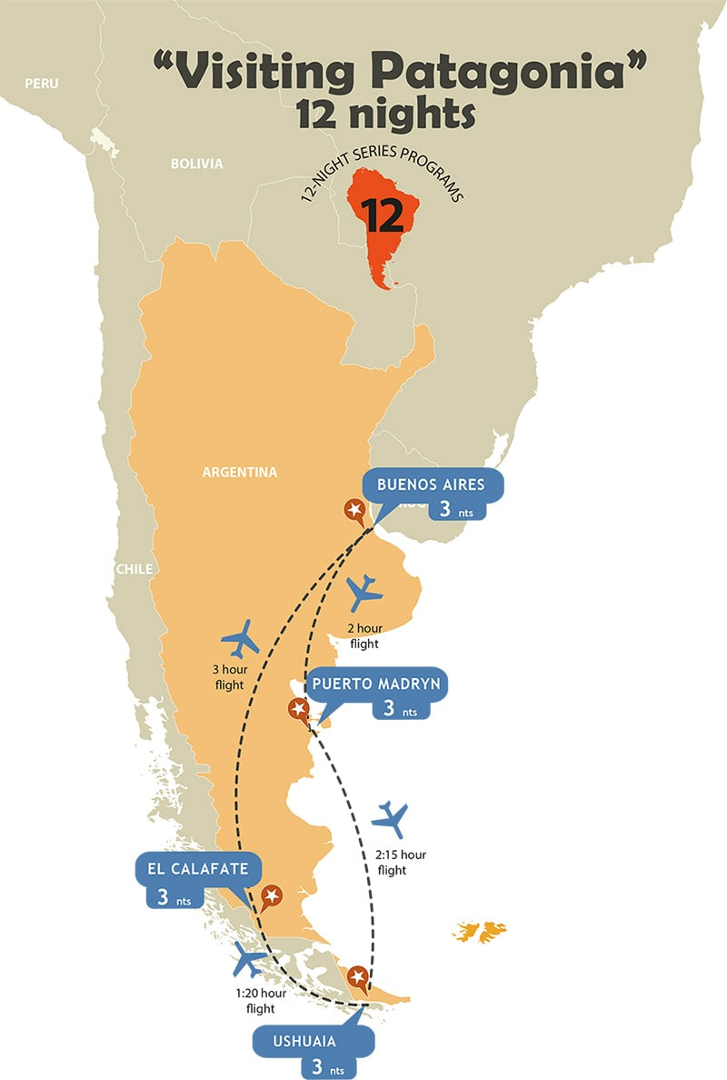 Visiting Patagonia - 12 Nights