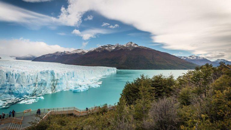 Where is the Perito Moreno Glacier located?